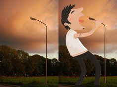 Stop-Watch-Tineke-Meirink-Detournement-Dessin-Photos-1