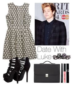 """Date with Luke"" by lovatic92 ❤ liked on Polyvore featuring Madewell, Missguided, Valextra, Alexander McQueen, Bobbi Brown Cosmetics and Sisley Paris"