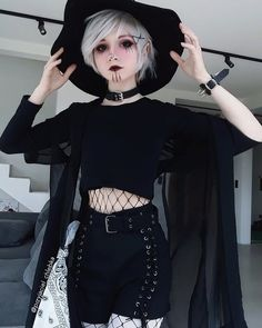 I want to watch some good horror >.<< any ideas? this beautiful shorts are from ♡♡♡ . I want to watch some good horror >.<< any ideas? this beautiful shorts are from ♡♡♡ . Grunge Outfits, Cute Goth Outfits, Gothic Outfits, Fashion Outfits, Gothic Dress, Fashion Fashion, Fashion Tips, Dark Fashion, Grunge Fashion