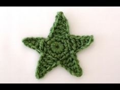 Crochet Star - How to Make Crochet Stars - YouTube