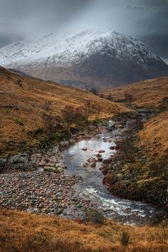 Glen Etive. Between Squalls. Highland Scotland.