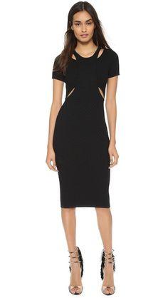 Jonathan Simkhai Hex Cutout Dress #Shopbop