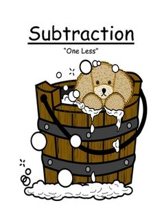 """Fern Smith's Center Game Math ~Over 50 Pages~ Subtraction """"Less One"""" Concept!"""