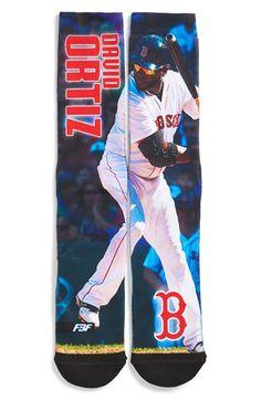 Men's FBF Originals 'Boston Red Sox - David Ortiz' Socks - Red