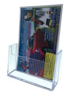 Brochure Holder Bi-Fold 6 x 9 inch. Booklet Catalog size Qty 10