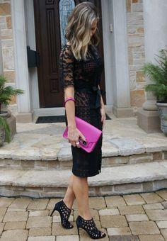 holiday style // date night // little black dress // mama style