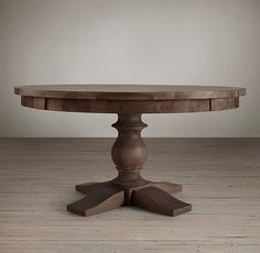 17th C. Monastery Round Dining Table  :: for Wine Room