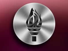 Dribbble - Aluminum button by Prince Siflah .T