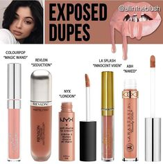 Kylie Lipkit Exposed dupes