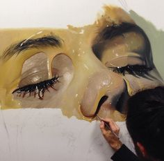 Amazing Hyper Realistic Painting by Mike Dargas