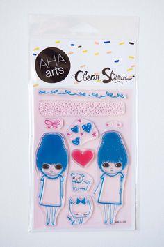 Stamp+Set+Girls+&+CO+by+ashleyg+on+Etsy,+$14.95