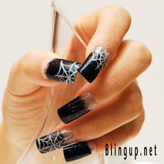Spider web nails!