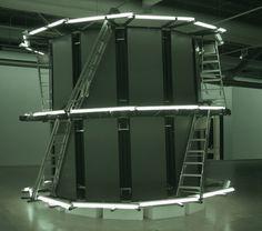 REINHARD MUCHA, NOTICE ET BALLADE Centre Pompidou, Stairways, Installation Art, Robin, Goal, Sculpture, Inspiration, Design, El Dorado