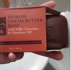 Happy ‪#‎NationalChocolateDay‬! Let your skin take a bite out of our decadent Ivorian Cocoa Butter soap!