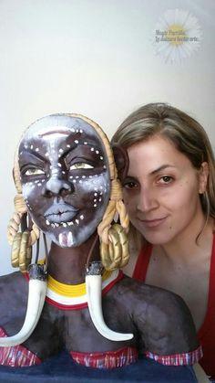 Mursi Woman - Cake by Mayte Parrilla
