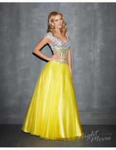 Night Moves 7183M Modest Prom Dress :: Margene's Bridal
