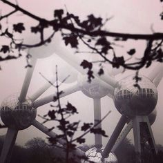 The #atomium in a foggy day. The unmistakable symbol of #Brussels and #Belgium pic by @ray_gan_photography #Padgram #atomium #bruxelles #brussels #brussel #expo #exposition #expo58 #58 #exhibition #tentoonstelling #worldfair #musee #museum #musea #visite #visit #bezoek #tourism #tourisme #toerism #attraction #attractie #atomium #architecture #architectuur #fifties #atomic #atomicage #spaceship #design #top #art #kunst #landmark #googie #midcenturymodern #midcentury #retro #atom