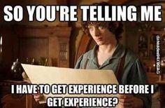 Story of my inexperienced internship life