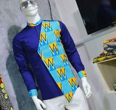 I am a clothier African Wear Styles For Men, Ankara Styles For Men, African Shirts For Men, African Attire For Men, African Clothing For Men, Kente Styles, Nigerian Men Fashion, African Print Fashion, Africa Fashion