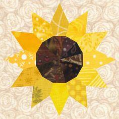 Star Quilt Patterns, Paper Piecing Patterns, Pattern Blocks, Pattern Paper, House Quilt Block, House Quilts, Chicken Quilt, Sunflower Quilts, Modern Quilt Blocks