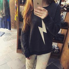 Cozy Chaser sweatshirt