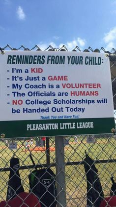 Need this on every Litle League field