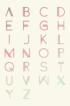 Anders Free Font Letters (Download here)