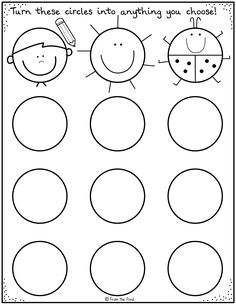 Drawing activities for kids - printable worksheets Art Worksheets, Preschool Worksheets, Printable Worksheets, Free Printables, Kindergarten Art, Preschool Art, School Fun, Art School, Middle School