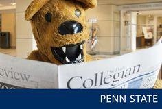 PENN STATE: Newsworthy  |  Pinterest Board Cover Image