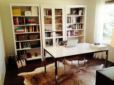 jillgg's good life (for less) | a style blog: casa good life: my office!