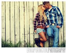 O I want a photo like this one! plaid shirts, cut of shorts & boots ;) HOT