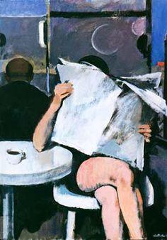 Hollerbach, Serge (1923-...) Girl reading
