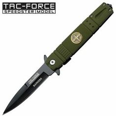 Army Ranger Tactical Stiletto By Tac Force, Pocket Knife