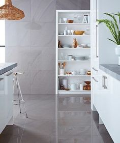 Large tiles for bathroom