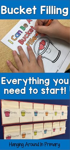 Start bucket filling in your classroom.  Everything you need to get started is in this resource.