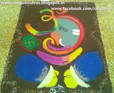 Diwali Rangoli , Kolam , Designs Images Diwali Rangoli, Ganesha Rangoli, Rangoli Designs, Design Hotel, Festivals, Hobbies, Images, Instagram, Blog