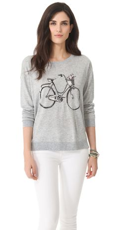 Joie Bicycle Intarsia Sweater | SHOPBOP