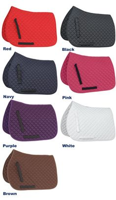 English Tack Shop - Shires Jump/GP Saddle Pad, $58.95 (http://www.englishtackshop.com/horse-pads/)