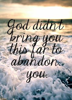 """•""""Be strong and of a good courage, fear not… for the Lord thy God http://facebook.com/173301249409767 [will] go with thee [and] will not fail nor forsake thee"""" (Deut. 31:6; see also Joshua 1:9). •""""I have graven thee upon the palms of my hands"""" (Isaiah 49:16). •Enjoy more from the Holy Bible http://facebook.com/212128295484505"""
