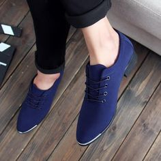 Faux Suede Oxford Flats