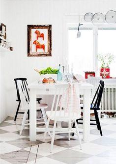 Love this chairs  #scandinavian #decor