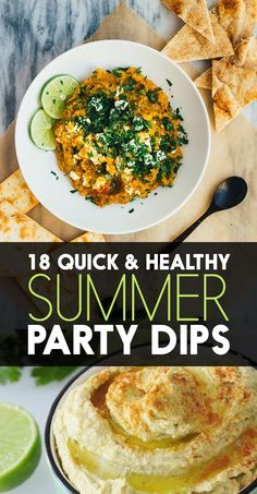 18 Healthy Dip Recipes That Literally Anybody Can Make