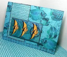 Under the Sea - greeting card   lisalizalou.blogspot.com