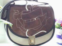 Schultertasche Umhängetasche Leder Tasche Sommer von Mabreser