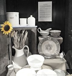 Belleek Stoneware at Belleek Pottery Visitor's Centre. Ireland travel tips.