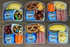 Friendly On the Go Snacks For Summer Use sandwich containers for snacks for the park or road trips! You can actually fit quite a bit in there!Use sandwich containers for snacks for the park or road trips! You can actually fit quite a bit in there! Kids Lunch For School, After School Snacks, School Ideas, Summer Snacks, Lunch Snacks, Kid Snacks, Kid Lunches, Pool Snacks, Team Snacks