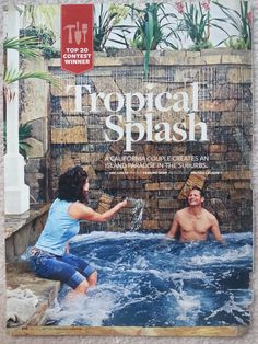 Tropical Splash Booklet (Page 1)