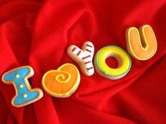 Galletas decoradas para el 14 de febrero