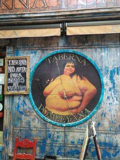 Taberna Pompeyana, no apta para niños ni beatos. #Madrid