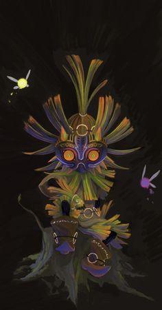 The Legend Of Zelda, Legend Of Zelda Tattoos, Majora Mask, Botw Zelda, Shadow Of The Colossus, Geek Games, Manga Games, Fire Emblem, Game Art